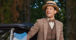 Nick in Brooks Brothers The Great Gatsby 2013 - fashion in film.PNG